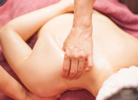 Scapula Massage